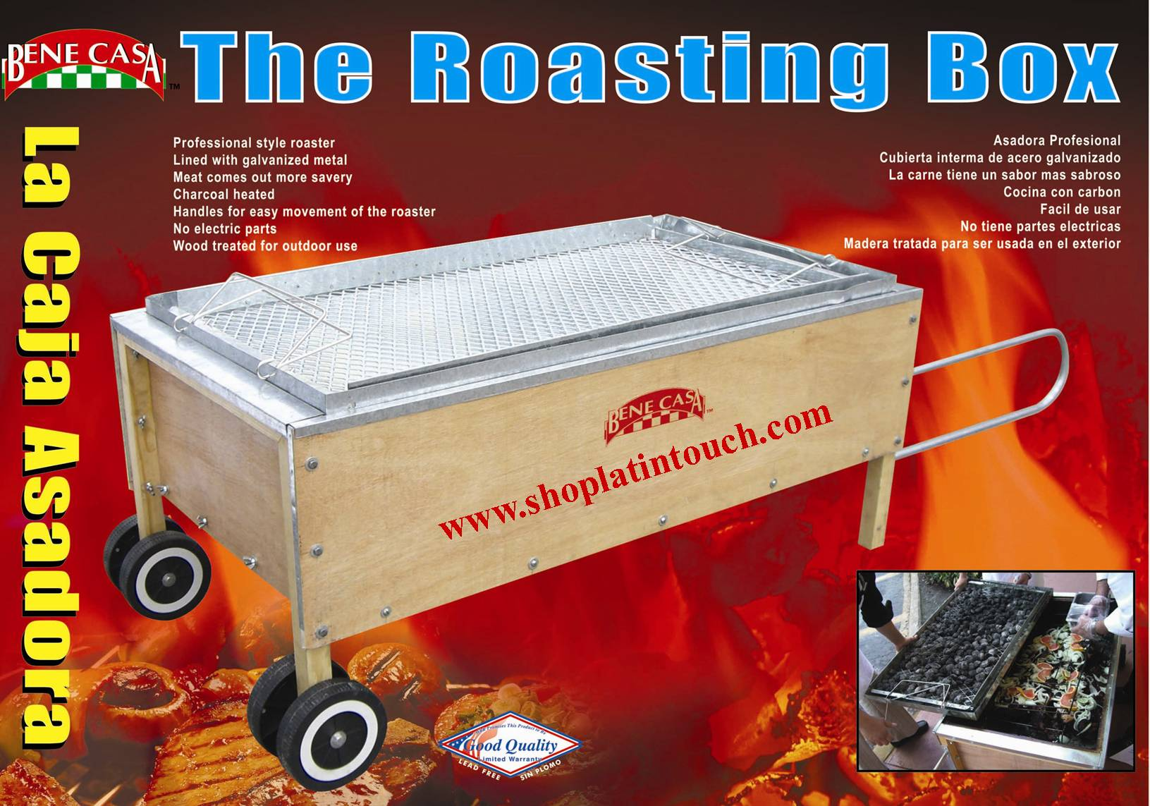 An Introduction To Caja China Stlye Roasting Box Cooking World