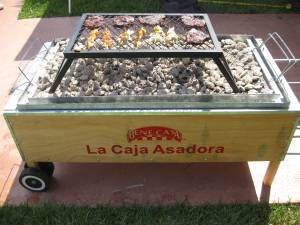 """La Caja China style Roasting Box top grill"""